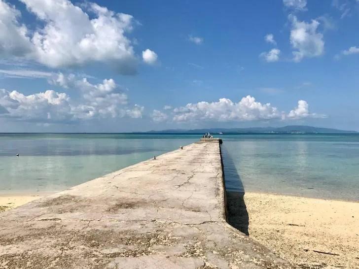 昨年小林さんが訪れた沖縄の竹富島の大好きな風景