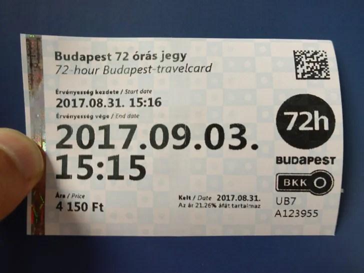 ハンガリーのフリーパス