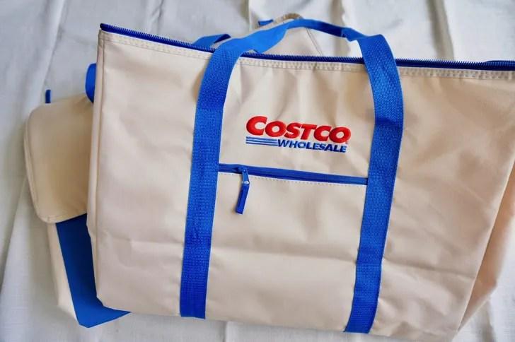 コストコのクーラーバッグ(保冷バッグ)(表面)