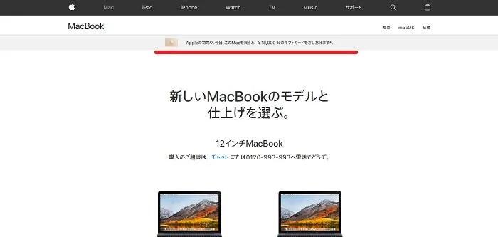 appleの初売り18,000円分のギフトカード