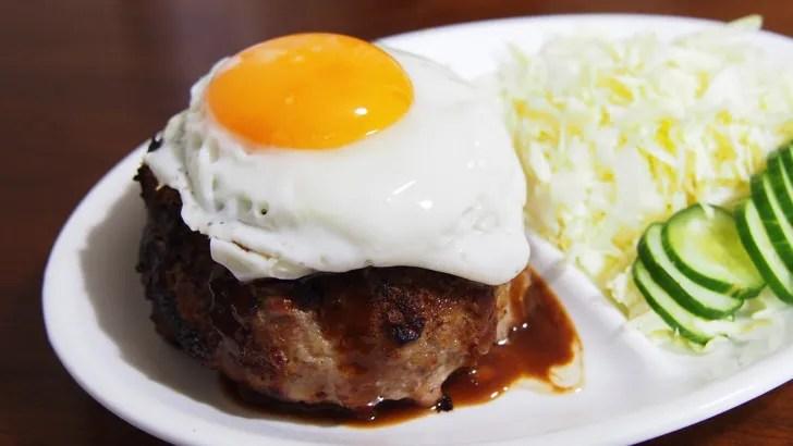 コストコの牛豚合挽き肉(赤身80%)(ハンバーグの出来あがり)