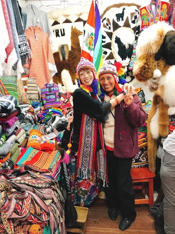 ペルー・クスコのローカルマーケット