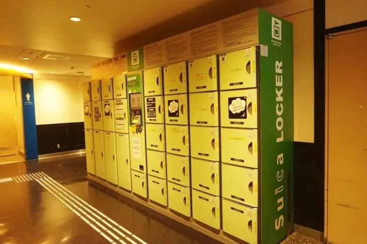 JR仙台駅3階すし通り前コインロッカー