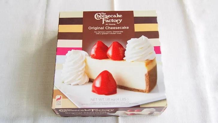 チーズケーキファクトリー オリジナルチーズケーキ(パッケージ)