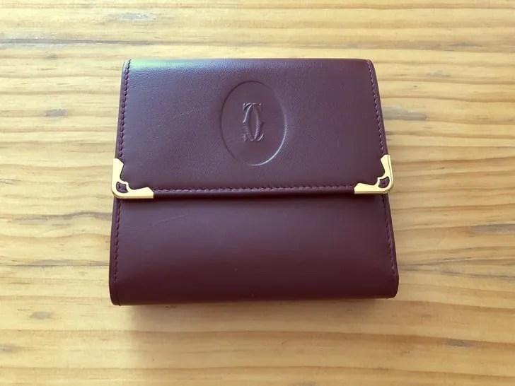 【RECLO】カルティエの財布