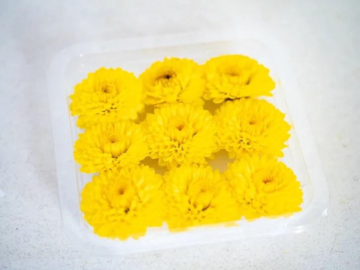 重陽の節句で食べる食用菊