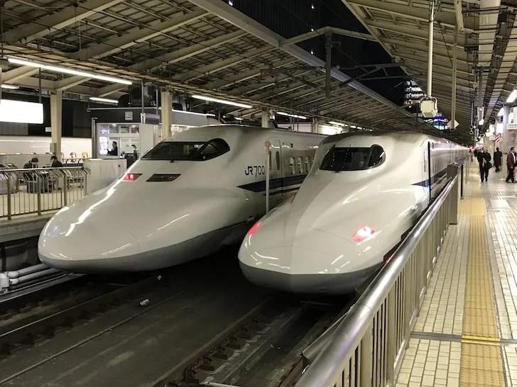東海道新幹線ののぞみ