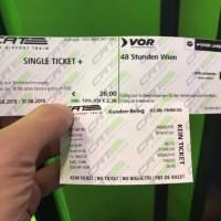 ウィーン国際空港から市内 CAT切符の買い方
