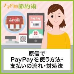 原信でPayPayを使って支払いする方法を写真つきで解説!使えないときの対処法も紹介