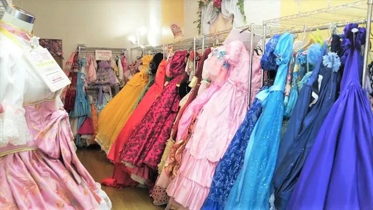 いがらしゆみこ美術館のお姫さまドレス