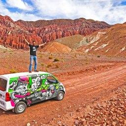 A 4 days road trip by campervan in the Atacama Desert