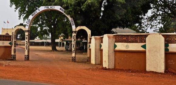 Main gate to palace