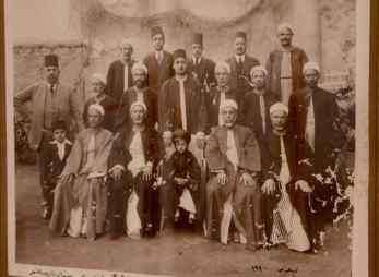 sheihks, sufis, and young Abdul Rahman Demerdash