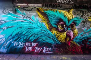 Mural by Zero, FatHeat, Transone & Böki at Step in the Arena 20