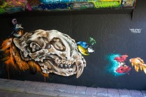 Mural by Tuzq at Step in the Arena 2015 in Eindhoven, Netherland