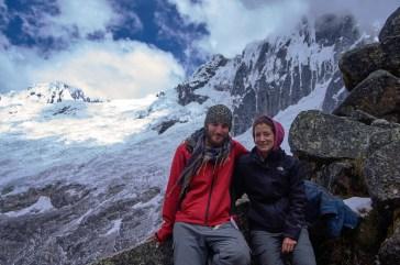We made it to Punta Union at the Santa Cruz trek in Peru