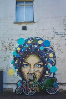 Street art by James Cochran (AKA Jimmy C) in Hasselt, Belgium