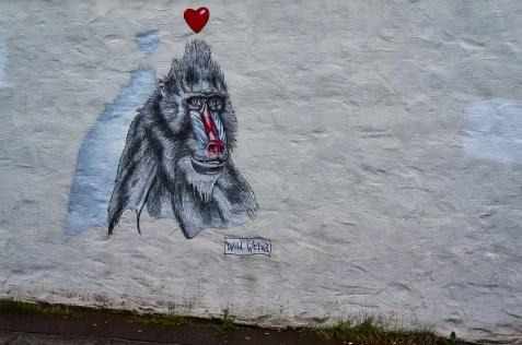 Street art by Wild Welva in Reykjavík, Iceland.