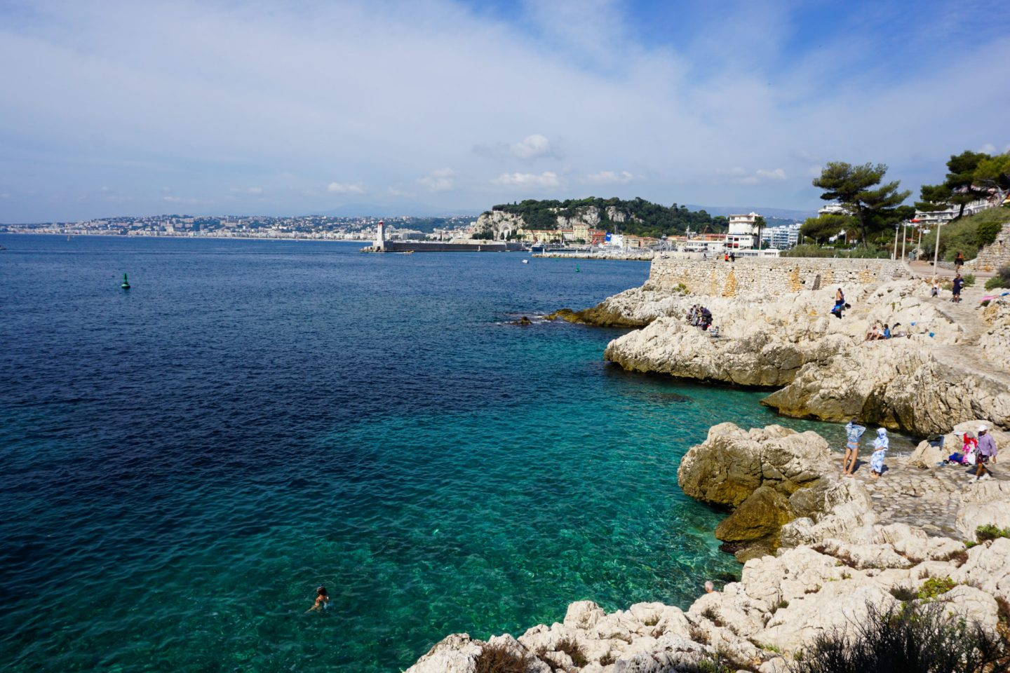 Walking to Villefranche sur Mer from Nice