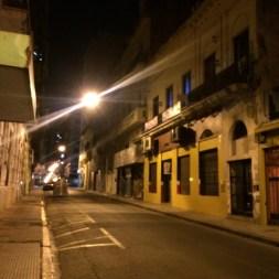 San Telmo at night