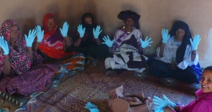 sterile gloves for midwives
