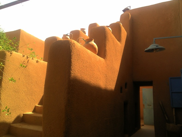Steps in Agadez