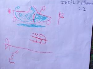 Indilik's drawing 2015