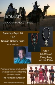 AFRICAN MARKET SALE September 26