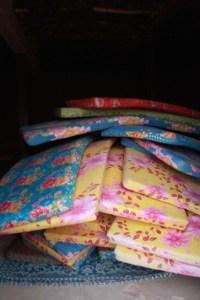 Mattresses were delivered