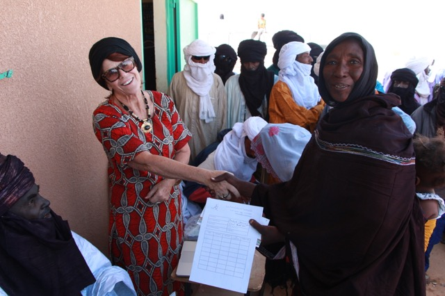 We did not want to leave women out of the program even though they are not as at risk of becoming terrorists, but their well being is always the foundation of a stable community. They rarely form organizations so with our encouragement two communities did and so 2 of our 10 are women's groups.