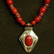 Ethiopian tomato beads