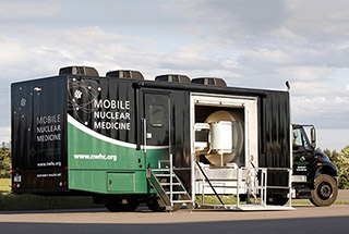 KRMC Nuclear Medicine Vehicle