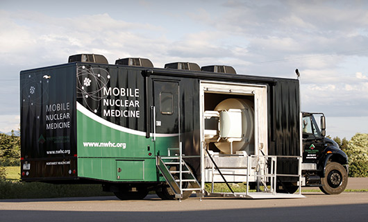 Mobile Nuclear Medicine Vehicle