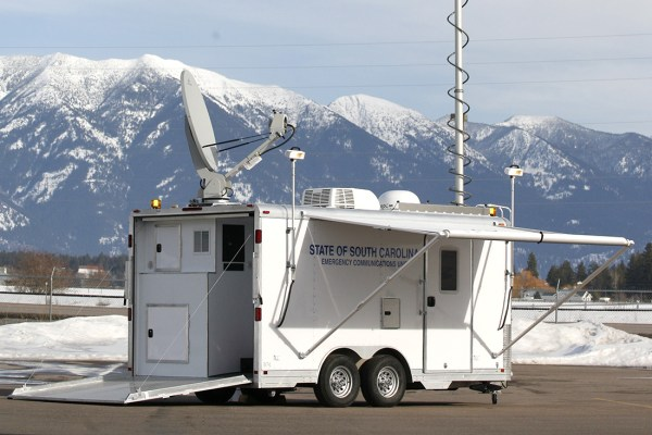 Deployed Communications Trailer