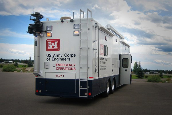Army Corps Vehicle Rear