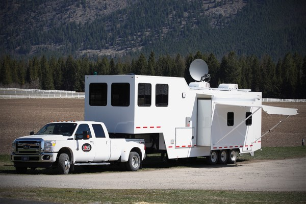 Trailer with Observation Area