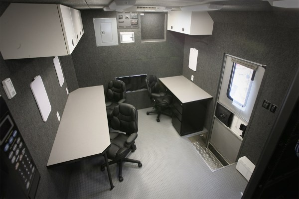 Mobile Command Center Workstations