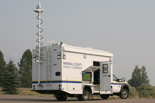 Marshall County Mobile Command Rear