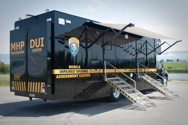 DUI Processing Vehicle