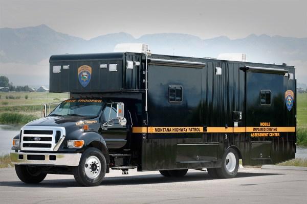 Montana Mobile DUI Vehicle