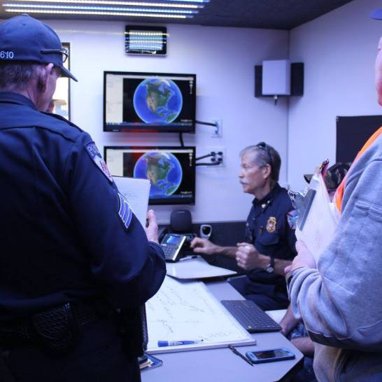Unified Command discusses priorities