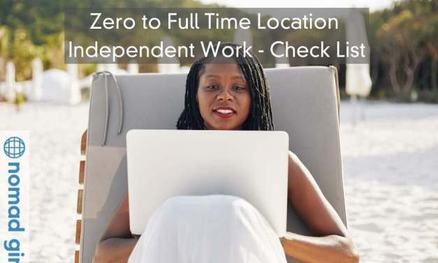51 Step Checklist – From Zero to Full Time Location Independent Work
