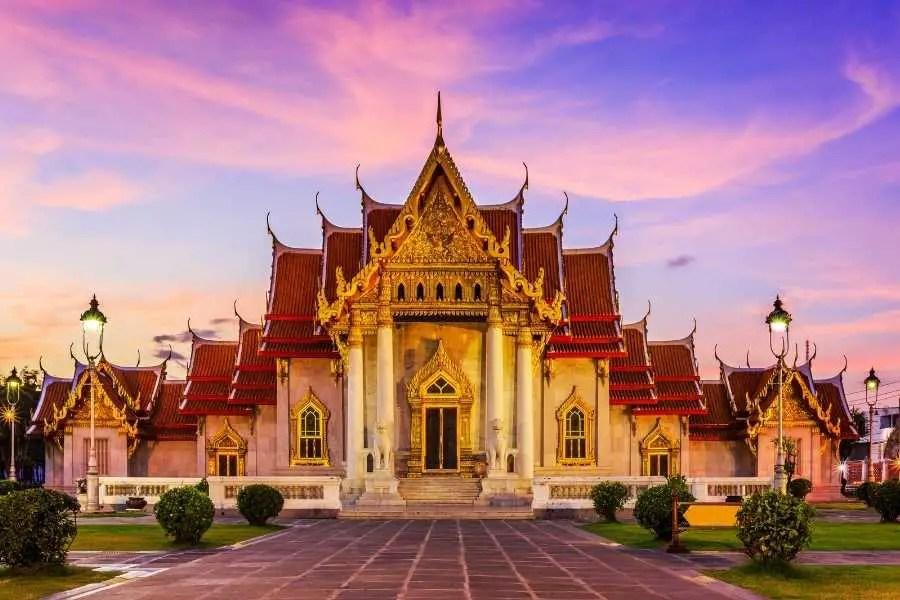 Bangkok Asia temple