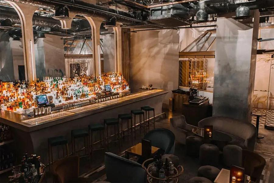 top 5 Manila speakeasies - Bank Bar - Bonifacio Global City