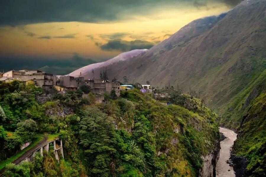 9 Places In South America You HAVE To See - Banos de Agua Santa, Ecuador