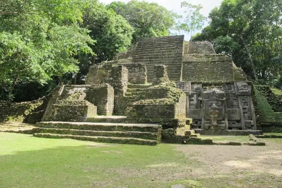 Lamanai Ancient ruin site in Belize Central America