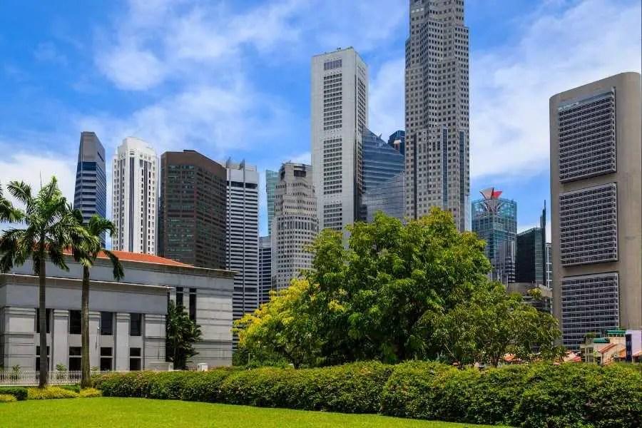 Singapore park Olympic