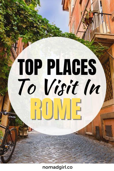 The Top Places to Visit in Rome