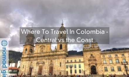 Where To Travel In Colombia – Central vs the Coast