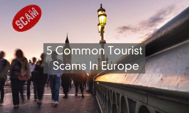 5 Of The Most Common Tourist Scams In Europe